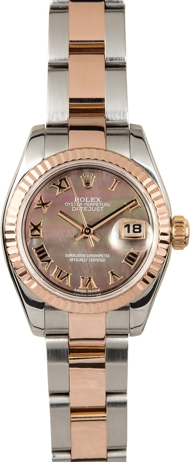 Rolex Lady-Datejust 179171 Everose