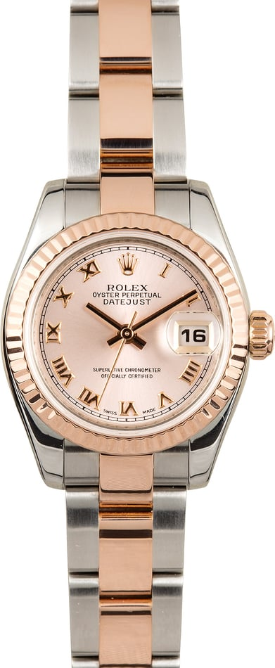 Rolex Lady-Datejust 179171 Everose Oyster