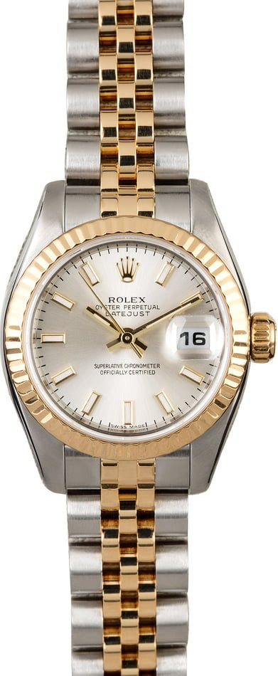 Rolex Datejust 179173 Two Tone Jubilee Band