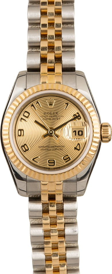 Lady Rolex Datejust 179173 Two Tone Jubilee