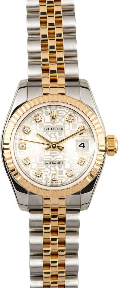 Rolex Lady Datejust 26mm 179173 Diamonds
