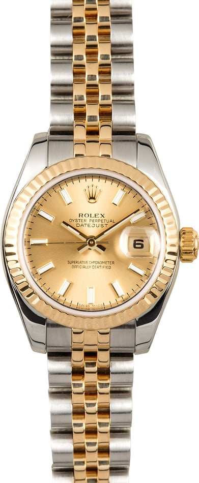 Rolex Lady-Datejust 179173 Jubilee