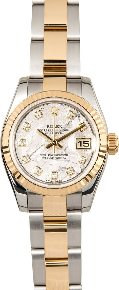Rolex Lady-Datejust 179173 Meteorite Diamond