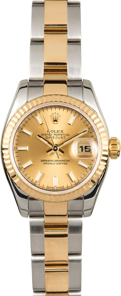 Rolex Lady-Datejust 179173 Oyster