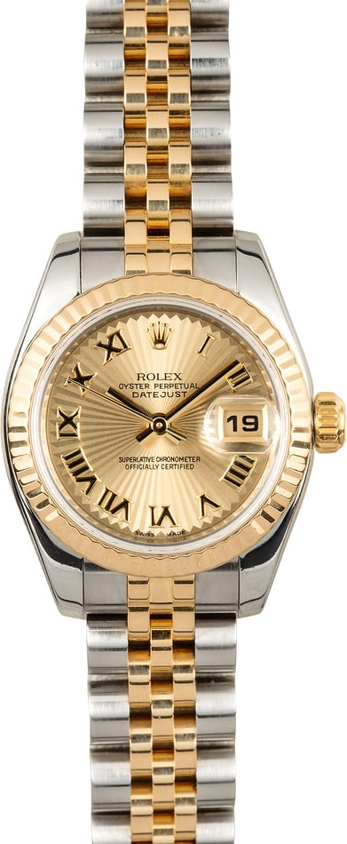 Rolex Lady Datejust 179173 Sunbeam