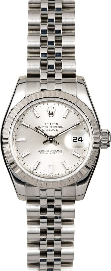 Rolex Lady Datejust 179174 Steel Jubilee