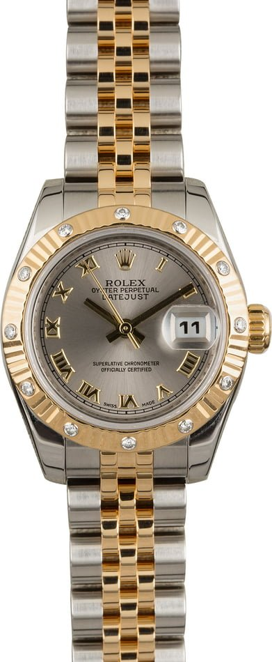 Buy Used Rolex Lady Datejust 179313 | Bobs Watches - Sku