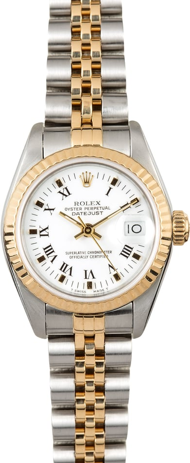 Rolex Lady-Datejust 26 69173 White