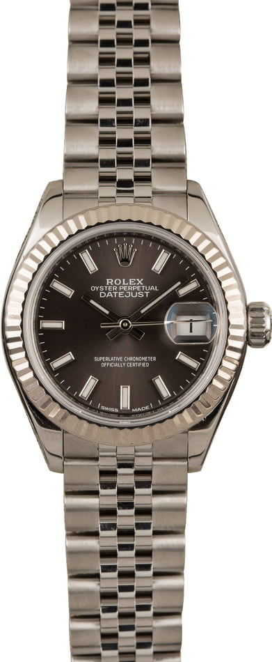 Pre-Owned Rolex Datejust 279174 Rhodium Dial
