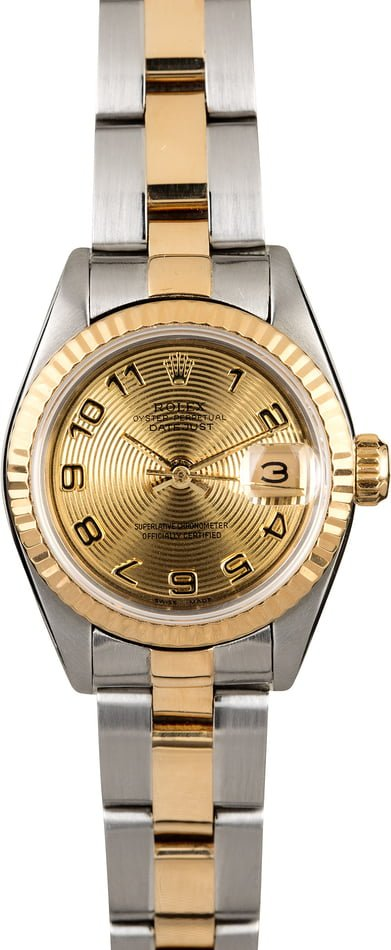Rolex Ladies Datejust 69173 Two Tone Oyster