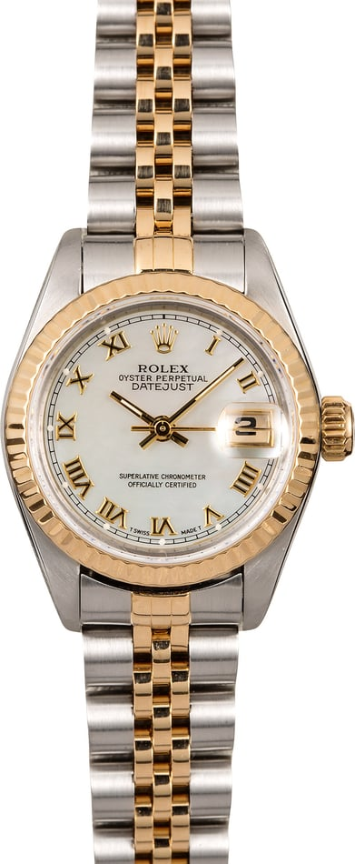 Rolex Ladies Datejust 69173 Mother of Pearl