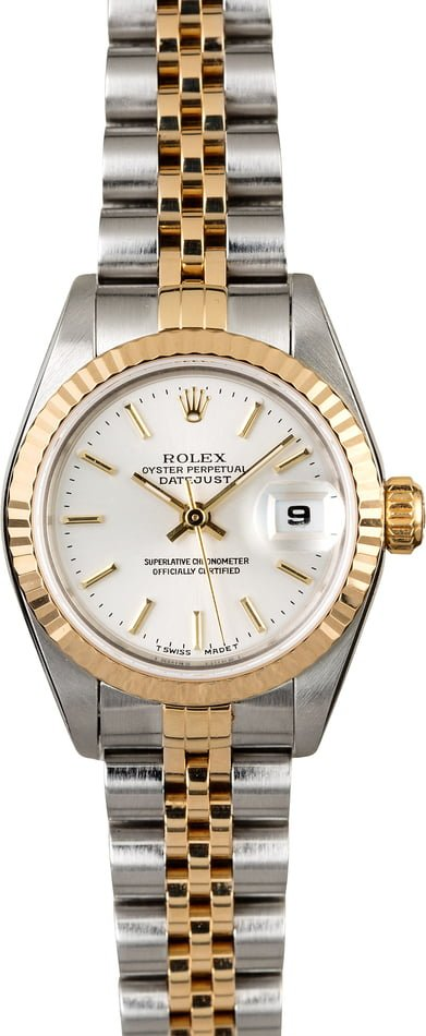 Rolex Datejust 69173 Silver Dial