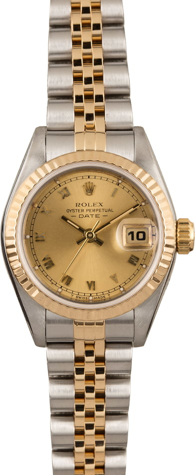 Pre Owned Rolex Datejust 69173 Roman Dial