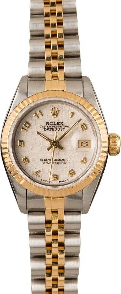 Ladies Rolex Datejust 69173 Jubilee Dial