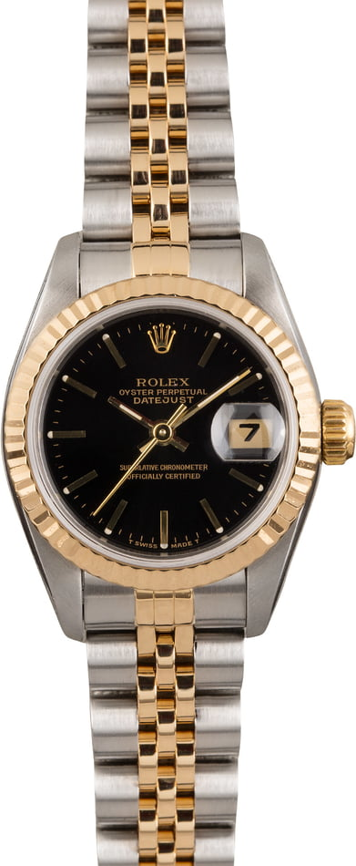 Pre Owned Rolex Lady-Datejust 69173 Jubilee