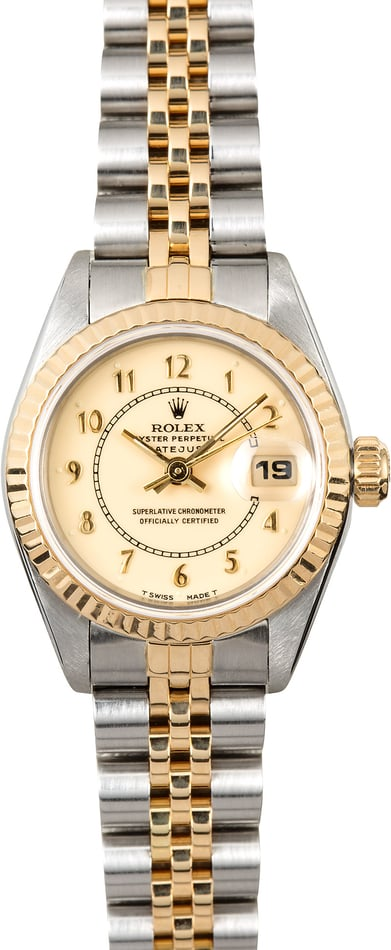 Rolex Lady-Datejust 69173 Arabic Dial
