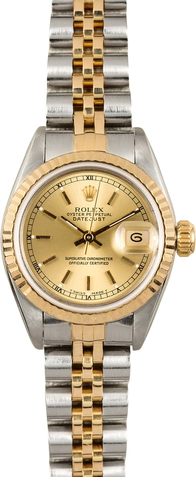 Rolex Lady-Datejust 69173 Two-Tone Certified Pre-Owned