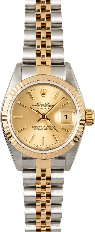 Rolex Lady-Datejust Jubilee 69173 Certified Pre-Owned