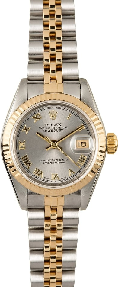 Rolex Lady Datejust 69173 Certified Pre-Owned