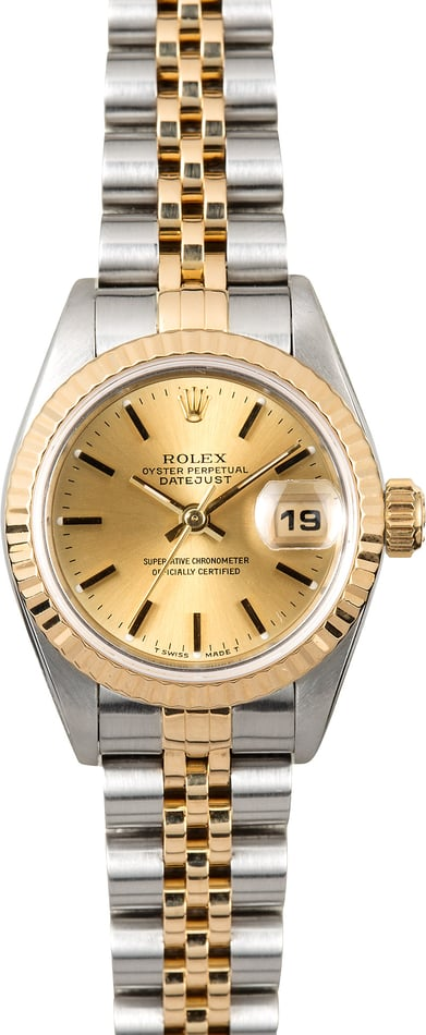 Women's Rolex Datejust 69173 Jubilee