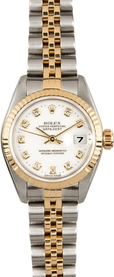 Rolex Lady-Datejust 69173 Diamond 100% Authentic