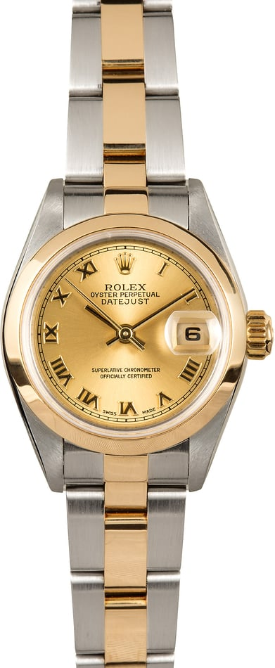 Rolex Lady-Datejust 79163 Champage