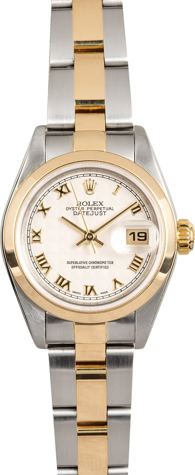 Rolex Lady-Datejust 79163 Pyramid Dial