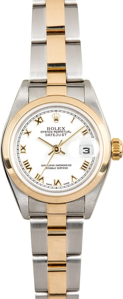 Rolex Lady-Datejust 79163 White Roman
