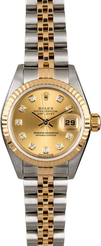 Rolex Lady Datejust 79173 Diamonds