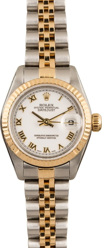 Pre Owned Rolex Datejust 79173 Roman Dial T