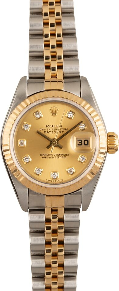 Pre Owned Rolex Lady Datejust 79173