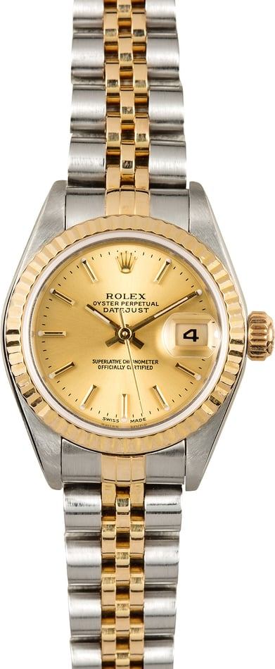 Rolex Lady-Datejust 79173 Champagne Dial