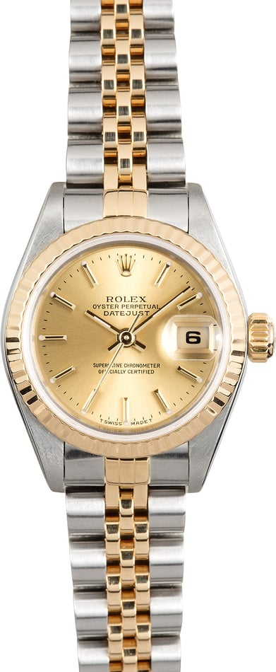 Rolex Lady-Datejust 79173 Champagne Jubilee