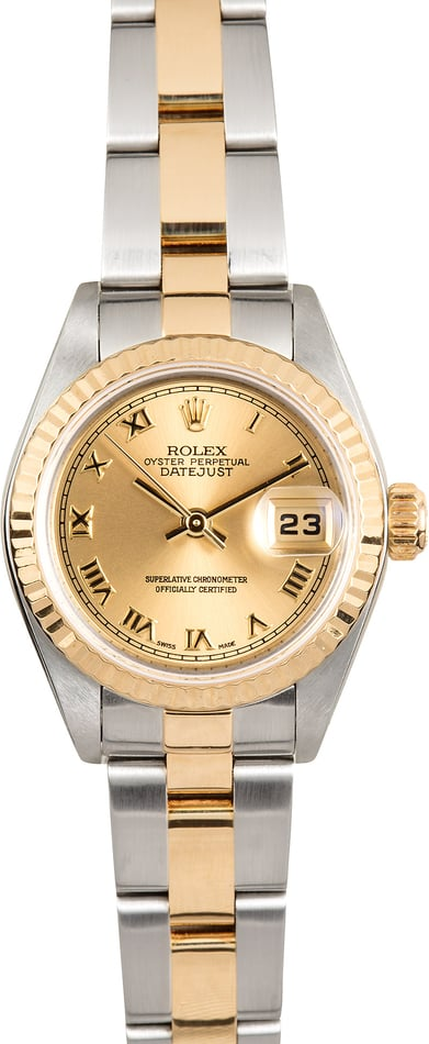 Rolex Lady-Datejust 79173 Fluted Bezel