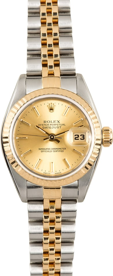 Rolex Lady-Datejust 79173 Two-Tone Jubilee