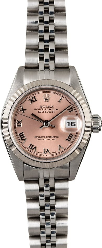 Rolex Lady Datejust 79174 Salmon