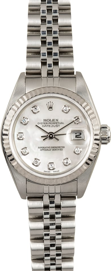 Rolex Lady-Datejust Diamond Dial 79174