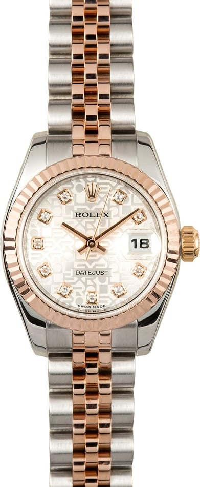 Rolex Ladies Datejust 179171
