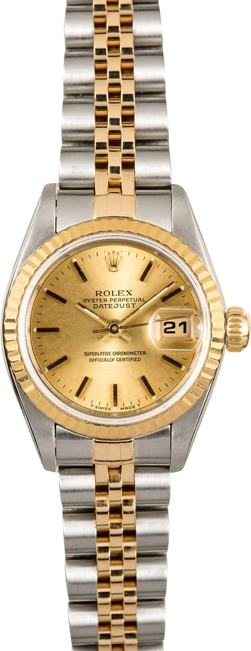 Rolex Lady-Datejust Two-Tone 69173