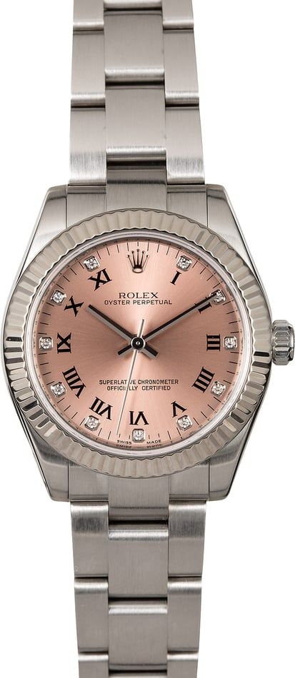Rolex Mid-Size Datejust 177234 Oyster Perpetual