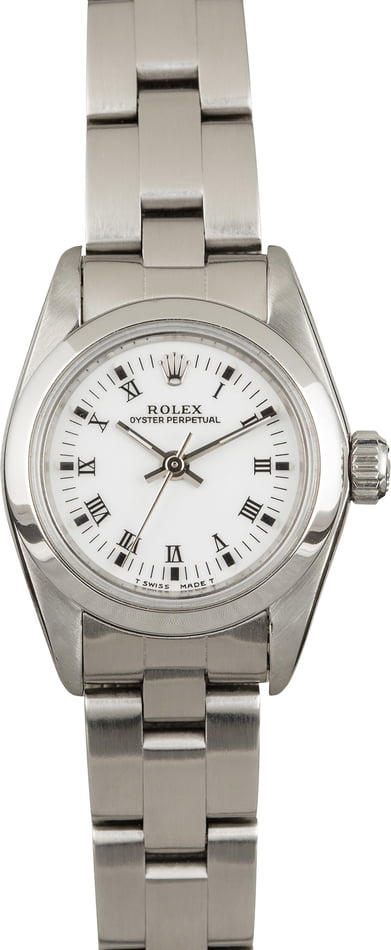 Pre Owned Lady Rolex Oyster Perpetual 67180