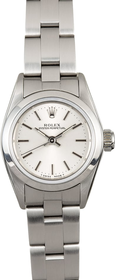 Rolex Lady Oyster Perpetual 67180 Steel