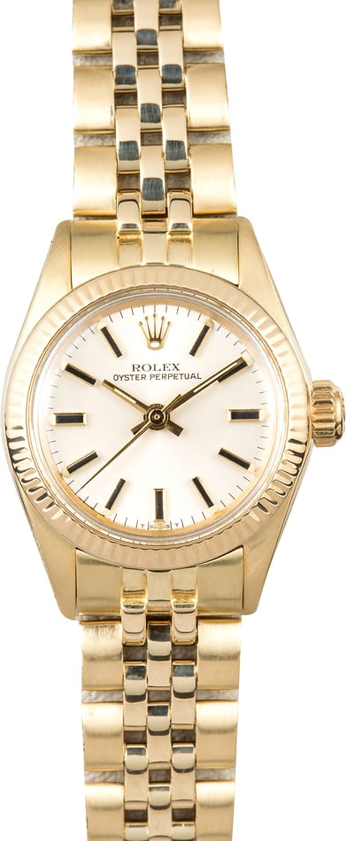 Rolex Lady-Oyster Perpetual 6719 Honeycomb