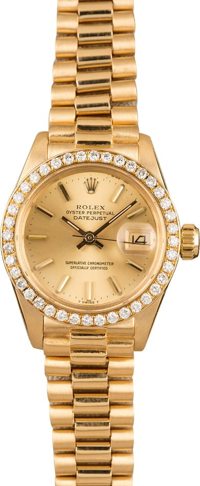 Rolex Lady-Datejust 6917 Diamonds