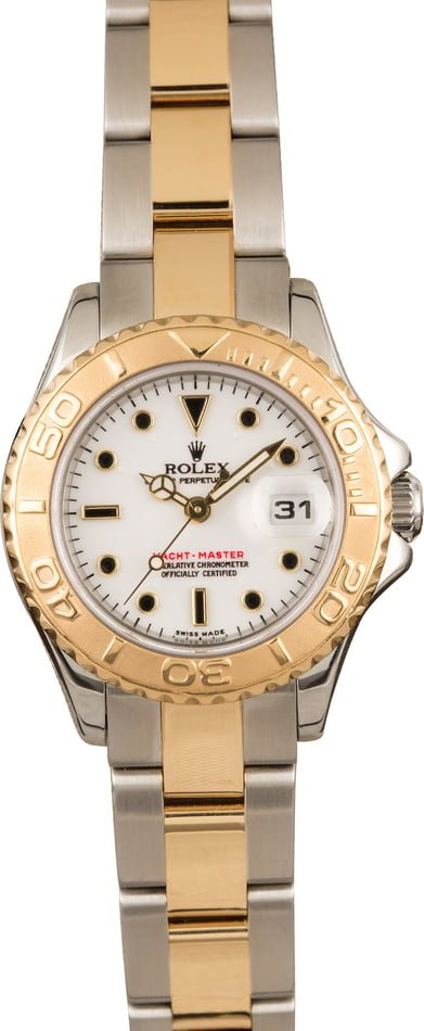 Pre-Owned Rolex Ladies YachtMaster 169623