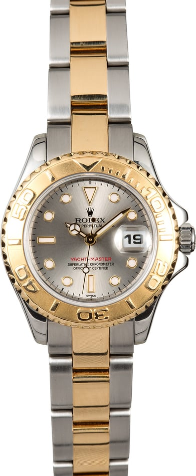 Rolex Lady Yacht-Master 69623 Slate Dial