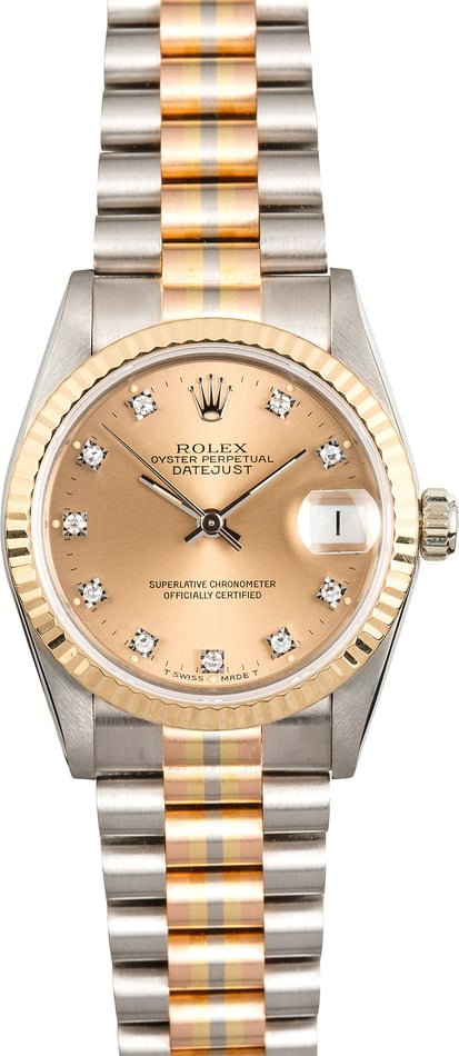 Rolex Mid-size Tridor President 68279