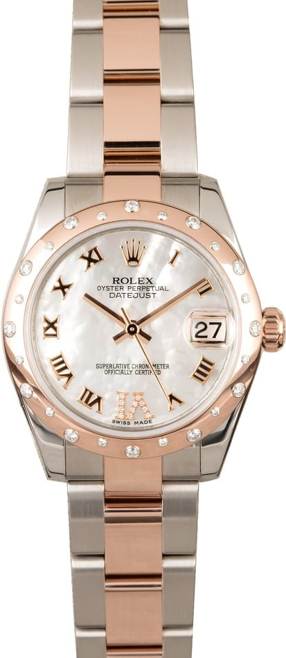 Rolex Mid-size Datejust 178341 Mother of Pearl
