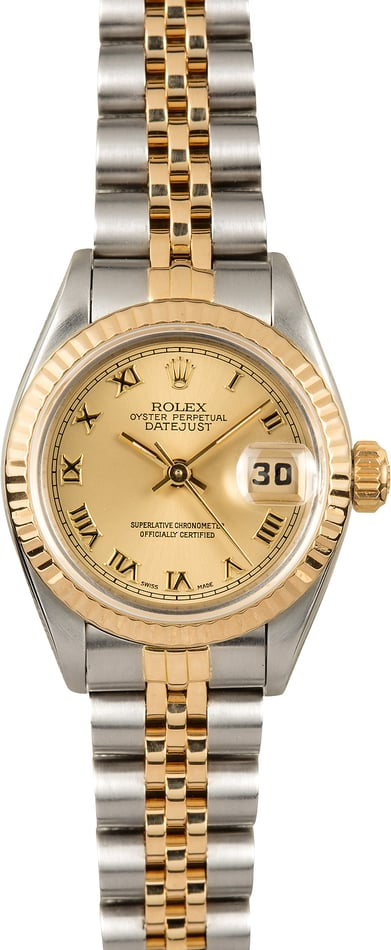 Rolex Oyster Perpetual Ladies Two-Tone Datejust