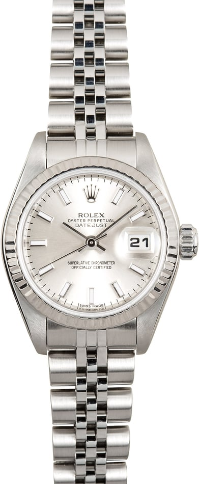 Rolex Stainless Lady-Datejust 79174 Silver